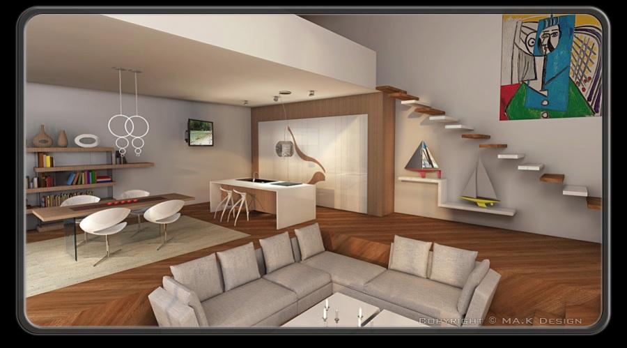 Proggetazione d 39 interni for Progetti architettura interni
