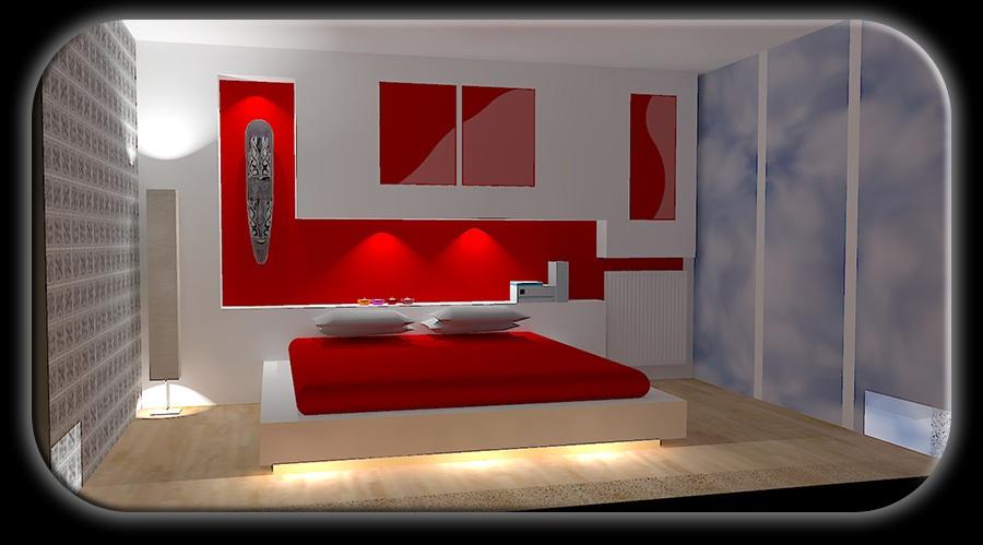 Proggetazione d 39 interni for Camera da letto con studio
