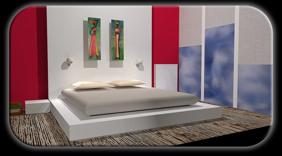 Progettazione d 39 interni consulenza - Progetto camera da letto ...